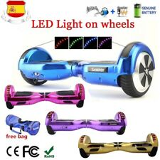 """6,5""""Hoverboard Patinete Eléctrico Scooter Self Balancing Monociclo Bluetooth LED"""