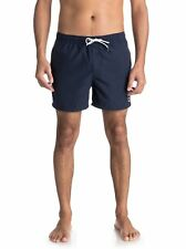 "QUIKSILVER MENS SHORTS.NEW BLACK EVERYDAY VOLLEY 15"" LINED BOARD SWIM 8S 318 KVJ"