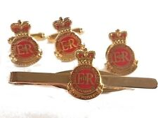 Royal Military Academy Sandhurst Cufflinks TieClip Lapel Badge Set or Individual