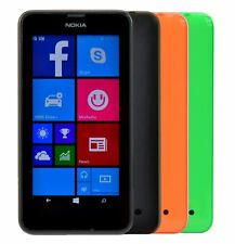 Nokia Lumia 635 Unlocked Sim-Free 4G LTE WiFi Windows 4.5inch Mobile Smartphone