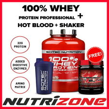 SCITEC NUTRITION 100% WHEY PROTEIN PRO ISOLATE 2.3kg/5kg + BCAA 375tabs + SHAKER