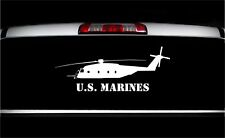 USMC CH-53 Sea Stallion Side Military Aircraft Vet Graphics Decal Sticker Car