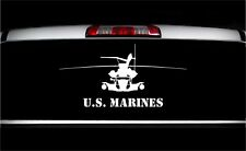 USMC CH-53E Super Stallion Front Military Aircraft Graphics Decal Sticker Car