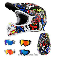 O'NEAL 3Series Rancid MULTI CASCO CROSS MX motocross HP7 OCCHIALI ENDURO