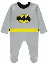 Ex store 3-6 & 6-9 months Batman fancy dress all in one with detachable cape NEW