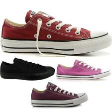 Womens Ladies Girls Chuck Taylor Converse Ox Low Canvas Juniors Trainers Shoes
