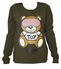 T-SHIRT MOSCHINO donna verde con moschino toy