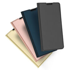 DUX DUCIS Pro Skin Series Faux Leather Flip Case Cover for Huawei Phones