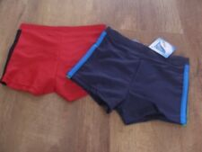 Ex store 3-6  6-9  9-12 months boys 2 pairs  swimming trunks pick your size NEW
