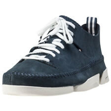 Clarks Originals Trigenic Flex Hommes Baskets Dark Blue Neuf Chaussure