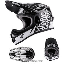 O'NEAL 3series combustible Negro Blanco Casco de Cross Quad Mx Motocross S M L