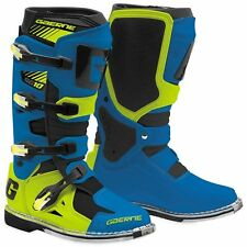 Gaerne Sg 10 EDIZIONE LIMITATA MX motocross enduro cross BARCA STIVALI CROSS BLU