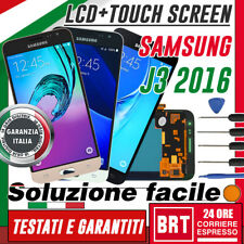 SAMSUNG Display LCD Originale + Touch Screen Per Galaxy J3 2016 SM-J320FN +KIT S