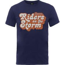 OFFICIAL LICENSED - THE DOORS - RIDERS ON THE STORM LOGO T SHIRT - JIM MORRISON