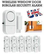 Wireless Window Door Burglar Security Alarm 90dB System Magnetic Sensor Home