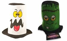 Adults Spooky Ghostly Topper Hat Unisex Halloween Fancy Dress Costume Accessory