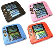 Soft Silicone Gel Cover Case for Nintendo 2DS Console UK Seller