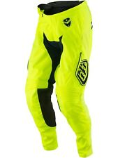 Pantaloni MX Bambino Troy Lee Designs 2017 GP Starburst Fluorescent Giallo-Blu S