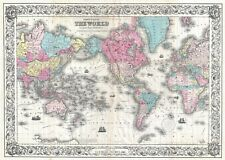 1528828570301g vintage world map giant 1 piece wall art large poster art print a0 a1 a2 a3 gumiabroncs Images