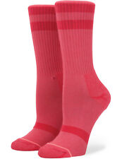 Stance Classic Uncommon Crew Crew Socks in Red