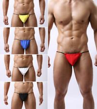 Mens bikini style T back G string / posing pouch, man thong Featuring T-Back UK