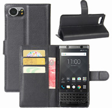 High Quality PU Leather Wallet Flip Case Cover Pouch For BlackBerry Keyone