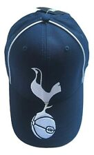 Mens Official Tottenham Hotspur FC Spurs Large Crest Navy White Cap One Size