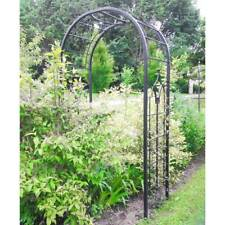 arche de jardin en fer forge avec portillon ebay. Black Bedroom Furniture Sets. Home Design Ideas
