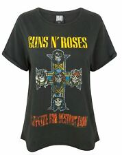 Amplified Guns N Roses Appetite For Destruction Women's Boyfriend Fit T-Shirt