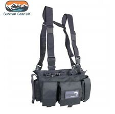 Viper Special Ops Chest Rig with Magazine Pouches Airsoft Tactical Vest Titanium