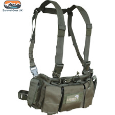 Viper Special Ops Chest Rig with Magazine Pouches Airsoft Tactical Vest Green