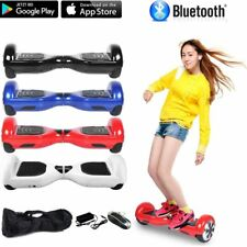 "HOVERBOARD 6,5"" LUCI LED APP SPEAKER E BLUETOOTH OVERBOARD 4 COLORI @☼"