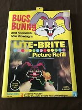 1978 Bugs Bunny Lite Brite Picture Refills / NEW / NEVER OPENED