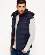 Superdry Hombre Chaleco Everest Navy