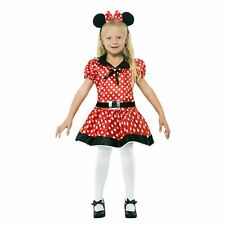 bambine CARINO Miss Mouse a pois ORECCHIE TV film costume