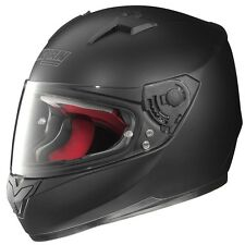 NOLAN N64 SMART Piatto NERO N-COM compatibile moto casco integrale