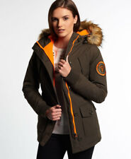 Superdry Manteau Everest Slim Polar Pour femme Olive