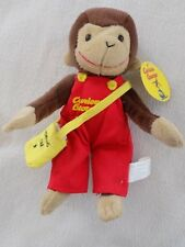 Toy Network Curious George Plush with Messenger Bag ~ 9