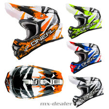 Oneal 3series SHOCKER Mx Casco de cross enduro quad MOTOCROSS NARANJA NEGRO ROJO