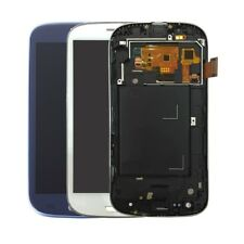 Touch Digitizer LCD Display Screen Frame For Samsung Galaxy S3 Neo i9301 i9301i