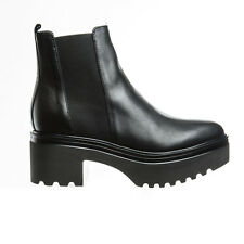 STIVALETTO DONNA A PUNTA JANET SPORT 40783 SHOES WOMAN CASUAL PELLE LEATHER NERO