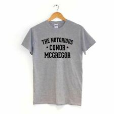 The Notorious Conor Mcgregor Camiseta Mayweather Fight Mma UFC Ropa