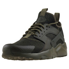 Mens Nike Air Huarache Run Ultra Se Textile Khaki Shoes Trainers Casual BNIB