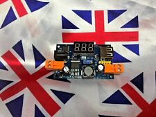 ⭐⭐ LM2596 DC-DC Adjustable Step-Down Buck Converter Module LED, USB Port ⭐⭐ UK