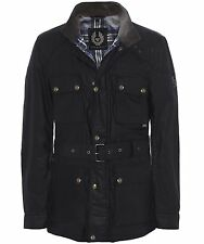 Belstaff Men's Waxed Roadmaster Jacket