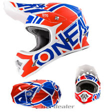 O'NEAL 3Series RADIUM OPACO ROSSO BLU CASCO DA CROSS MX motocross XS S M L XL