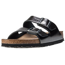 Birkenstock Arizona Met Soft Footbed Narro Womens Grey Walking Sandals