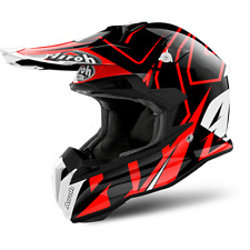 AIROH CASCO TERMINATOR OPEN VISION 2018 SHOCK RED GLOSS OFF ROAD HPC
