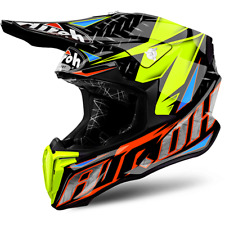 AIROH CASCO TWIST IRON 2018 ORANGE GLOSS OFF ROAD HRT