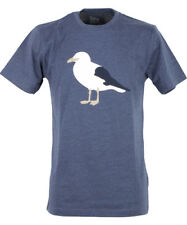 Cleptomanicx Gull3 T-Shirt Basic Tee Heather Blue